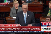 Sen. Schumer: 'This will be called the Trump shutdown'