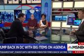 Trump, Congress facing jam packed 2018 agenda
