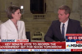 Sen. Jeff Flake explains latest movements in push to reopen government
