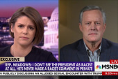 Rep. Mark Meadows: The president is no racist