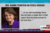 Feinstein publishes Fusion GPS transcript