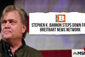 BREAKING: Bannon steps down from Breitbart News Network