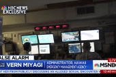 "Hawaii's Emergency Administrator: ""He pushed the actual button instead of the test button"""