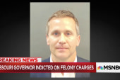 Missouri Gov. Greitens indicted on felony charges