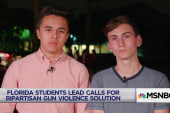 Florida students' message to Trump: Do something