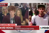 David Hogg on 'crisis actor' conspiracies: Change is coming regardless