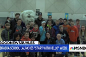 #GoodNewsRuhles: Nebraska middle school encourages morning hellos