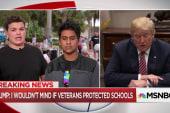 Parkland survivors to Trump: Is money more valuable than children