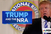 A look at the NRA's support of President Trump