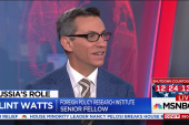 Watts on election interference: Russia did this in Ukraine