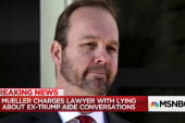 Mueller charges lawyer with lying about conversations with ex-Trump aide