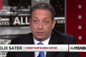 Felix Sater on Trump, Russia, and being a spy
