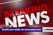 A week of whiplash in Washington