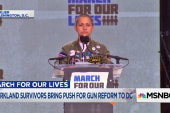 Emma Gonzalez makes statement with silence at March for Our Lives