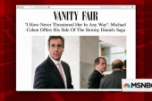 Cohen shares side of Daniels story with Vanity Fair