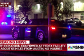 Explosion hits FedEx facility in Texas, no injuries