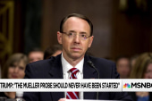 Is it possible Rod Rosenstein has (privately) recused himself ?
