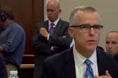 AP: McCabe kept personal memos on President Trump