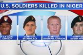 Pentagon: Multiple missteps led to solider deaths in Niger
