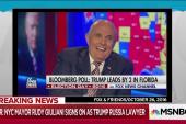 Comey: Giuliani boasts prompted investigation into FBI leaks