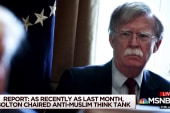 John Bolton chaired anti-Muslim think tank: report