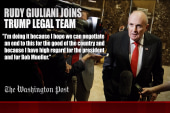 Rudy Giuliani joins Trump legal team