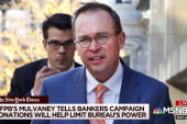 Mulvaney revealed preference for talking to paying lobbyists
