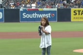 #GoodNewsRuhles: 8-year-old throws opening pitch with 3D printed arm