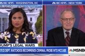 Dershowitz: Hiring Giuliani sends reassuring message to Cohen