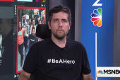 "Ady Barkan launches new campaign asking everyone to ""Be A Hero"""
