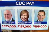 New CDC Director makes more money than his own boss