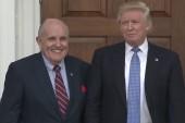 Why did President Trump add Rudy Giuliani to his legal team?
