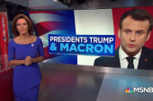 Trump's history with French President Macron