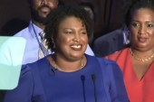 Stacey Abrams makes history with Georgia win
