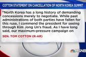 Senate GOP embraces Trump's decision to cancel North Korea summit