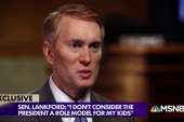 Sen. Lankford: President not a role model for my kids