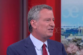 De Blasio: Trump has said to my face NYC is a safe city