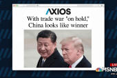 With trade war 'on hold,' China looks like winner
