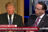 """Trump officially crosses a """"red line"""" with the FBI, DOJ"""