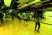 305 Fitness makes you feel like you're at a Miami dance club