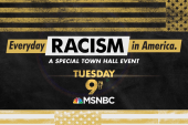 Everyday Racism in America: A special MSNBC town hall