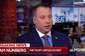 Sam Nunberg explains why Trump aides talk to Trump via TV