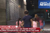 Reporter reveals 'astonishing' video of migrant kids brought to NY