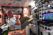 #BIGPICTURE: 'Astro-Alex' watches world cup from space station