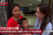 Asylum-seeking mom: 'Please help us. We are human beings'