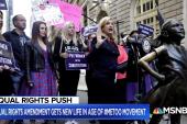Alyssa Milano, Congresswoman Maloney talk Equal Rights Amendment