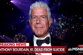Chef and host Anthony Bourdain dies at 61