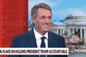 Senator Jeff Flake on Trump policies and the future of the Republican Party