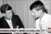 Where is America 50  years after RFK's death?