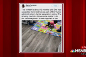 NYT staffer tweets pic of toddler at Texas shelter